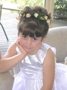 Flower Girl Hair Brisbane