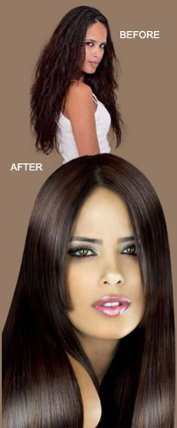 Hair Straightening Brisbane
