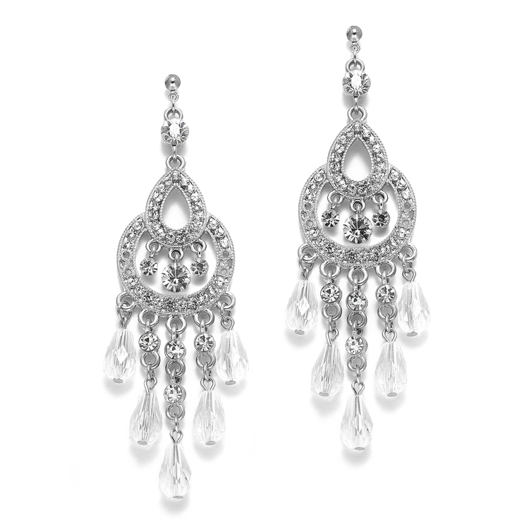 Art deco vintage chandelier earrings anywhere hair make up art deco vintage chandelier earrings mozeypictures Images