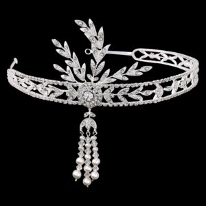 Gatsby Inspired Crystal Headband