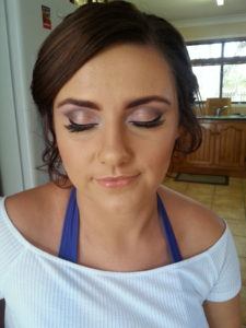 Mobile makeup and hair styles